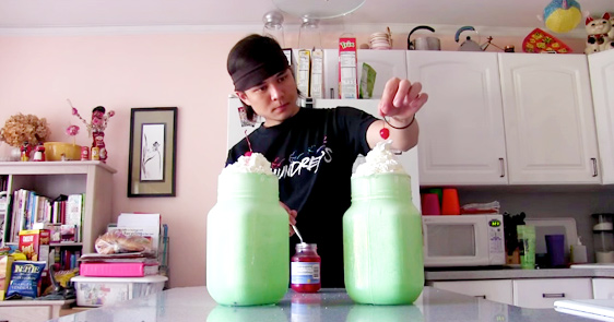 This Guy Manages To Gulp Down 1.25 Gallons Of Shamrock Shakes