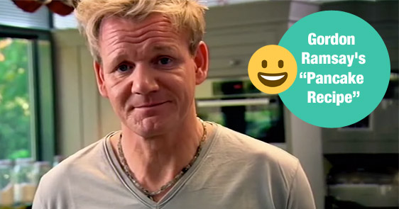 Love Pancakes? You Should Try Gordon Ramsay's New And Improved Recipe