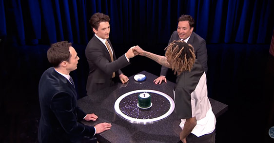 "That One Time Jim Parsons, Miles Teller, Wiz Khalifa And Fallon Played ""Catchphrase"""